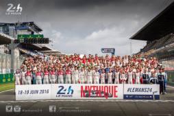 Entrée dans la Légende du Mans