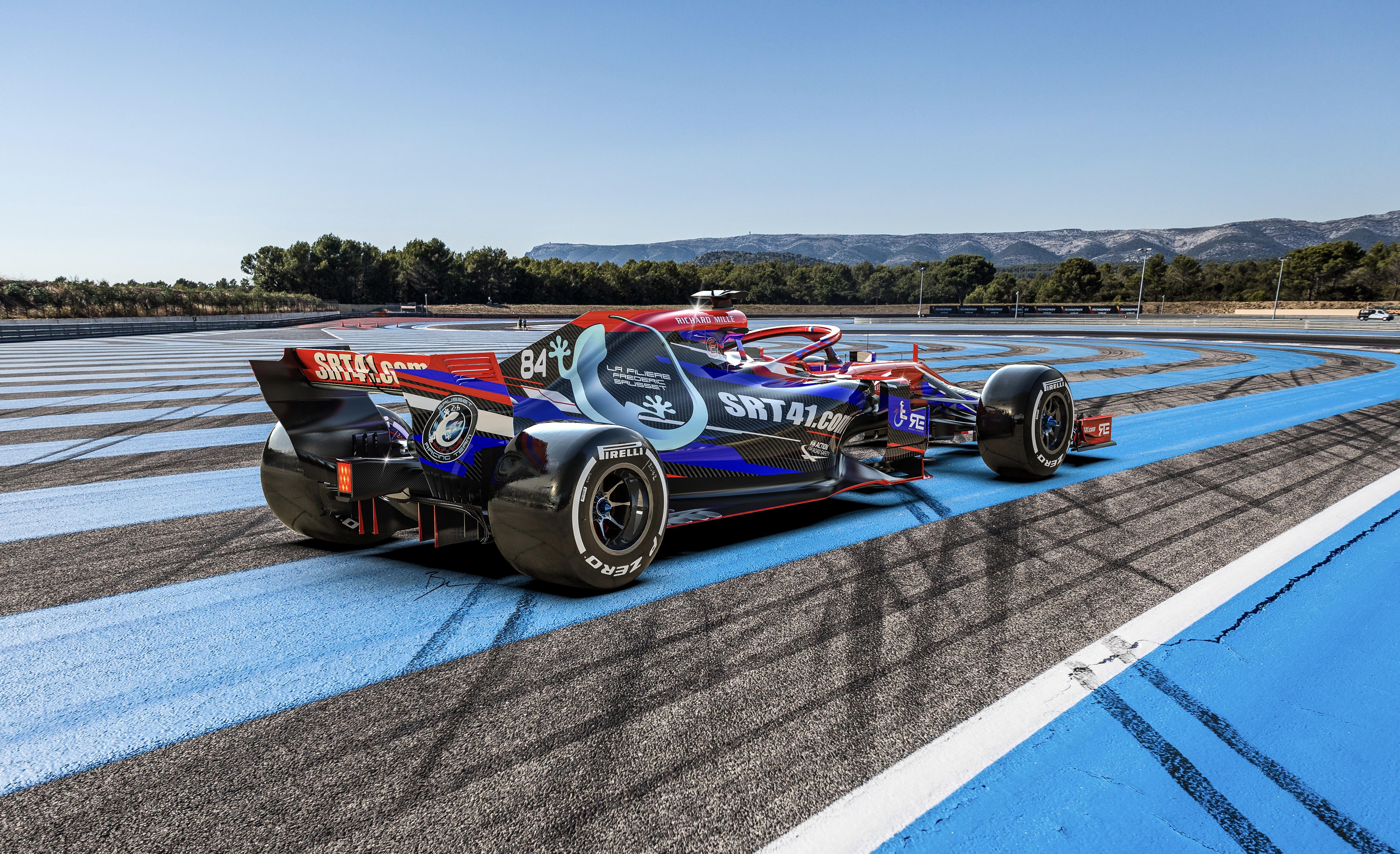 SRT41_F1 2020 design By Benoit Fraylon